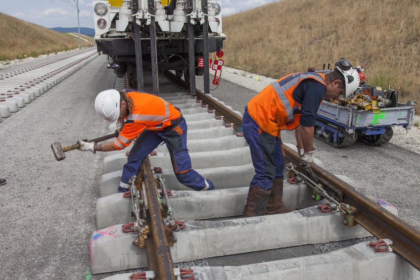 AFPS Formation pose de rails neufs
